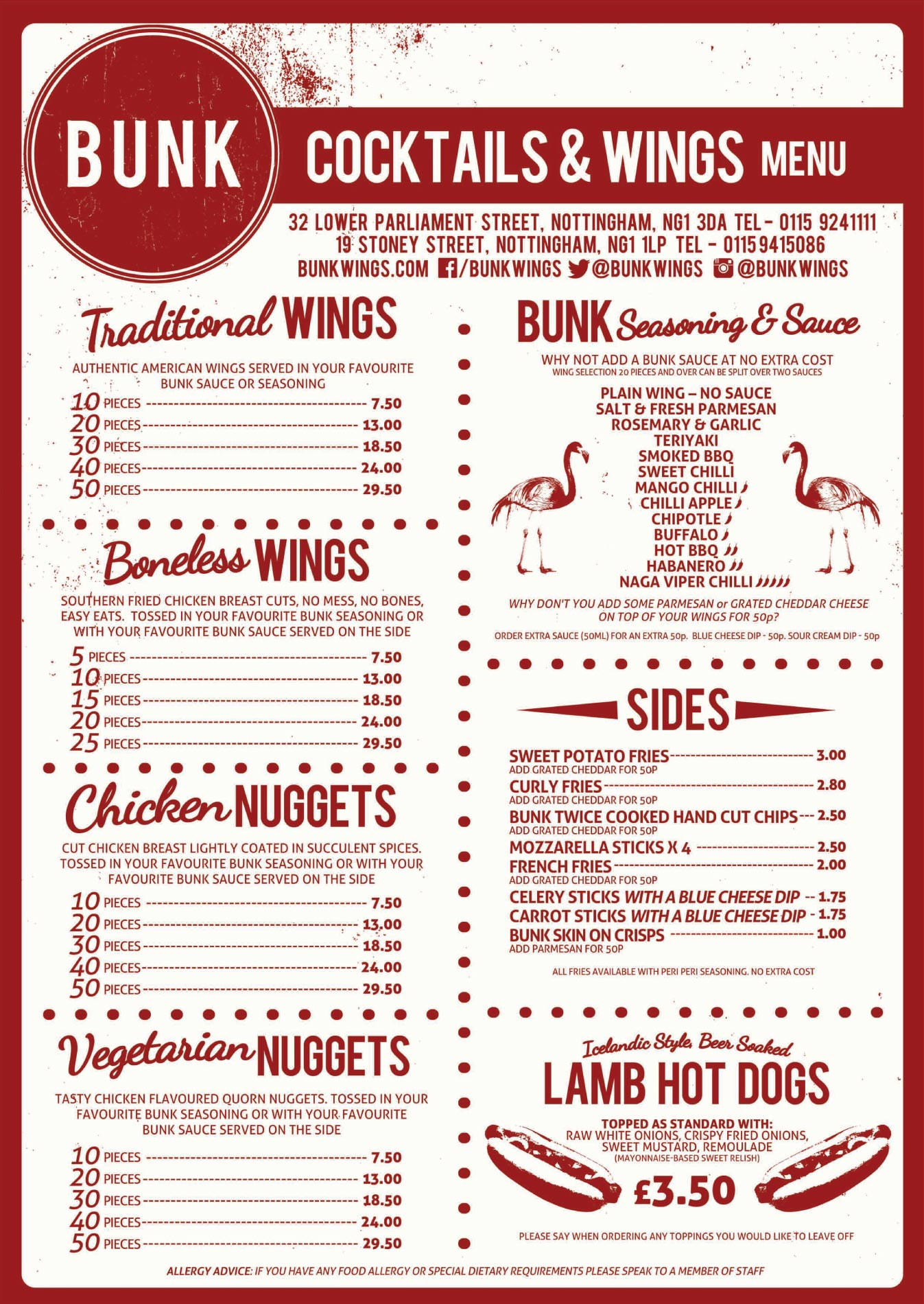 bunk-cocktails-and-wings-nottingham-wings